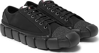 1763233fda6 Moncler 5 Moncler Craig Green Canvas Sneakers - Black