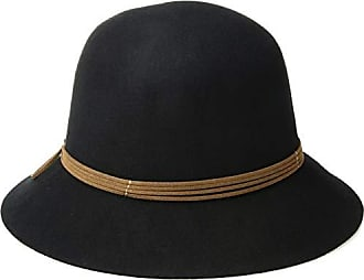 2090c8d40cf0d9 Nine West Womens Felt RAW Cut Cloche, Black, one Size