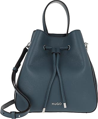 HUGO BOSS Bucket Bags - Victoria Drawstring Bag Dark Blue - blue - Bucket Bags for ladies