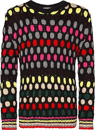 Koché Suéter com listras - Preto