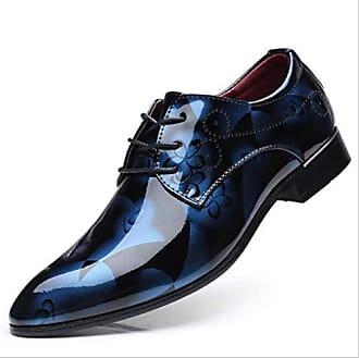 Herren Braun Oxford Schuhe Leder Work Business Kleid Slipper