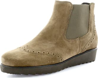 Ara Womens 41543 Malmo-St Brogue Chelsea Ankle Boots 26 (Taupe Teak, Numeric_2_Point_5)