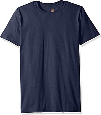 Gold Toe Mens Crew Neck T-Shirt, Navy, Small