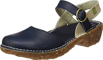 El Naturalista S.A N178 Soft Grain Yggdrasil, Womens Closed-toe heeled shoes, Blue (Ocean / Piedra), 6 UK (39 EU)