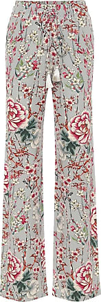 Etro Floral high-rise straight pants