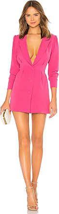 Lovers + Friends City Blazer Dress in Pink