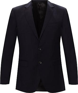 Lanvin Wool Suit Mens Black
