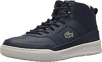 9f58c78fad507 Lacoste Mens Explorateur SPT MID 417 2 Sneaker Navy 10.5 M US