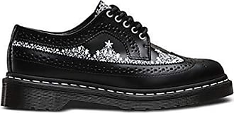 cc92ff3ab3bb95 Versand  kostenlos. Dr. Martens Dr.Martens Womens 3989 Lace Smooth Black  White Leather Shoes 36 EU