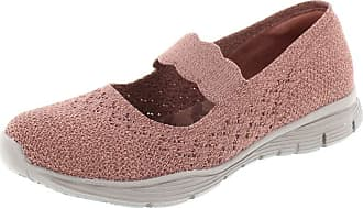 Skechers 49622 Seager Power Rose Womens Mary Jane Shoes 5
