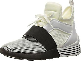 829acc6d4 Kendall + Kylie Womens Braydin Sneaker, White/Black, 10 M US
