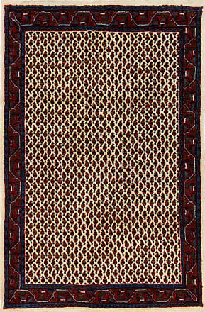 Nain Trading 155x103 Handknotted Sarouk Mir Rug Beige/Brown (Wool, Iran/Persia)