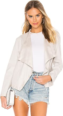 BB Dakota Teagan Faux Leather Jacket in Gray
