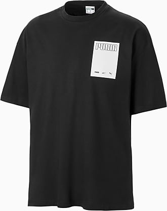 Puma Herren Print Shirts in Schwarz | Stylight