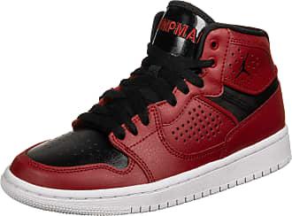 Nike Jordan Unisex Kids Access Cross Country Running Shoe, Rojo Gimnasio/Negro/Blanco, 3.5 UK