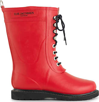 Ilse Jacobsen Ilse Jacobsen Rub15, Womens Boots, Red (Black), 5.5 UK (38 EU)