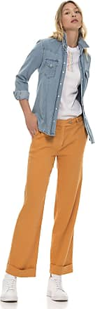 Re-hash Pantalone di lino crop a gamba ampia