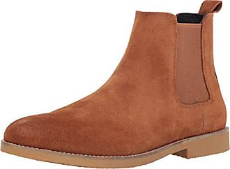 54e209569 Dr. Scholls Mens Credence Chelsea Boot tan Suede 10.5 M US