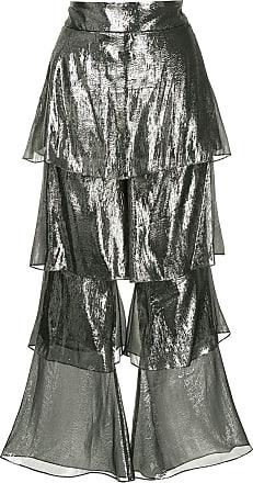 Osman Calça com camadas - Metálico