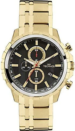 Technos Relógio Masculino Technos Performance JS15EY/4P Dourado