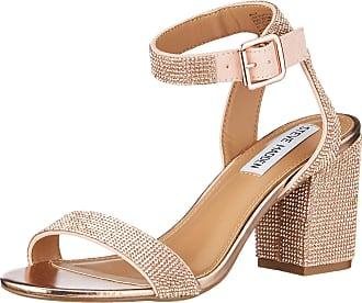 Steve Madden Womens Malia Heeled Sandal, Rose Gold Multi, 4.5 UK