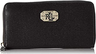 ee73e5bb1f7d62 Ralph Lauren Damen Lrl Zip Wallet Geldbörse, Schwarz (Black), 2x10x19 cm