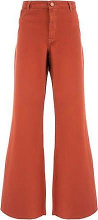 FYI Calça Pantalona Color FYI - Marrom
