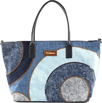 Desigual Gravity Holbox Shopping Bag Jeans