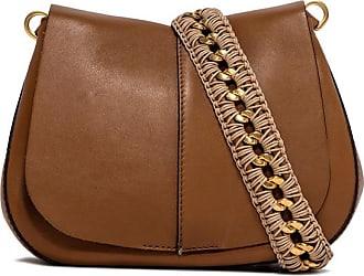 Gianni Chiarini medium size helena round habibi shoulder bag color brown