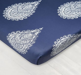 Dreamon Bedsheet With Rubber Mandala Of Drops White