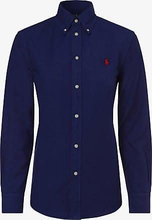 Polo Ralph Lauren Damen Bluse - Relaxed Fit blau