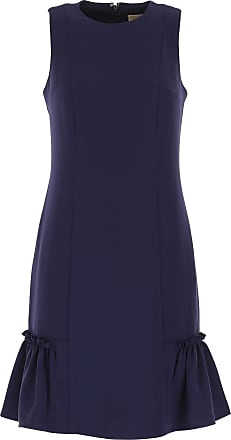 db8679217f Michael Kors Abito Donna Vestito elegante On Sale in Outlet, Navy Blu,  polyester,