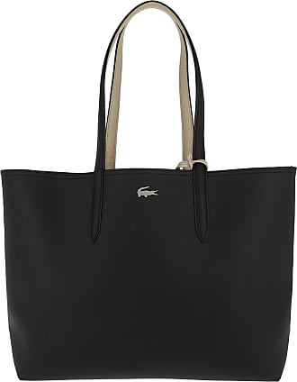 Lacoste Shopping Bags - Anna Shopping Bag Black Warm Sand - black - Shopping Bags for ladies