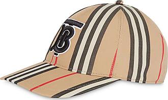 Burberry Boné Icon listrado - Neutro