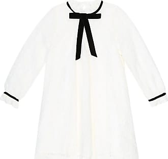 Tartine Et Chocolat Bow-tie lace dress