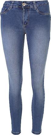 Sawary Calça Jeans Sawary Skinny Heart Azul