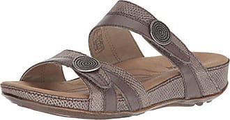 Romika Womens Fidschi 22 Flat Sandal, Taupe, 42 M EU (11-11.5 US)