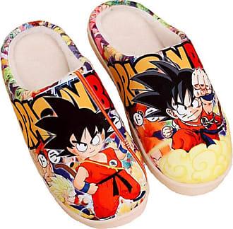 Cosstars Dragon Ball Anime Anti-slip Home Slippers Cute Plush Warm Indoor Shoes