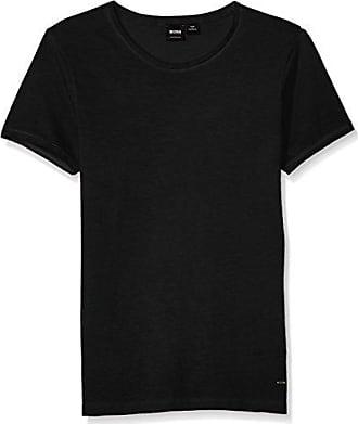 4583db55c HUGO BOSS BOSS Orange Mens Troy Crew Neck Short Sleeve Solid T-Shirt, Black