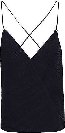Wolford Wolford Woman Stretch-jersey Top Navy Size S