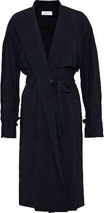 A.L.C. A.l.c. Woman Bristol Wool-blend Trench Coat Midnight Blue Size 10