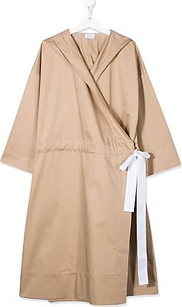 Unlabel Vestido envelope com capuz - Neutro