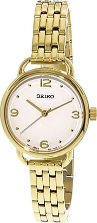Seiko Womens SUR670 Gold Stainless-Steel Japanese Quartz Dress Watch