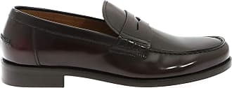 Doucal's Loafers in Faded Wine Color, 43.5 Brown
