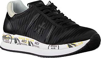 Premiata Schwarze Premiata Sneaker Low Conny