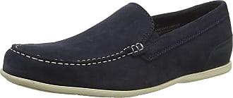 Rockport Mens Malcom Venetian Loafer Moccasins, Blue (New Dress Blues SDE 002), 9 (43 EU)