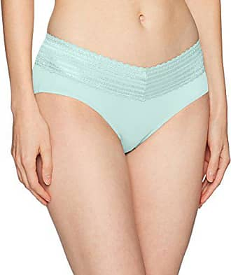 Warner's Womens No Pinches Lace Hipster Panty, Sea Spray Blue, Small