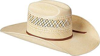 Ariat Mens 20x Gold 2-Tone Americana Cowboy Hat, Natural/tan, 7 1/4
