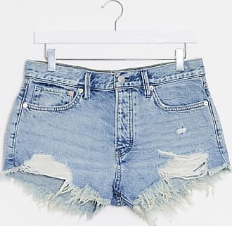 Free People short loving good vibrations denim shorts in blue