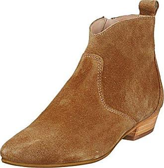 313c16a29c36ff Marc O'Polo Flat Heel Bootie 80114076001300, Bottes Souples Femme, Beige ( Camel